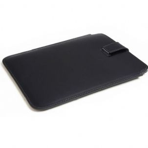 Dulwich Designs 70861 Black Leather iPad Tablet Pouch
